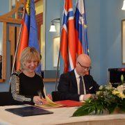Signing of the Memoranda of Understanding